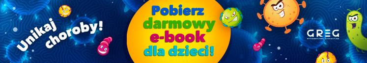 Unikaj choroby! Pobierz darmowy e-book dla dzieci!